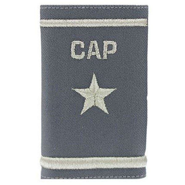 Civil Air Patrol: Grey Epaulets, Brig. General Epaulets, hook and loop