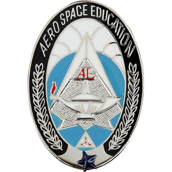 Civil Air Patrol Badge: Aerospace Education
