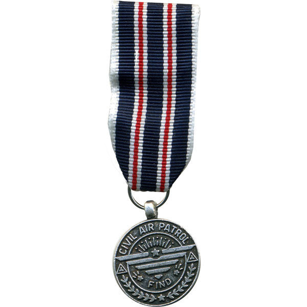 Civil Air Patrol miniature Medal: Rescue Find