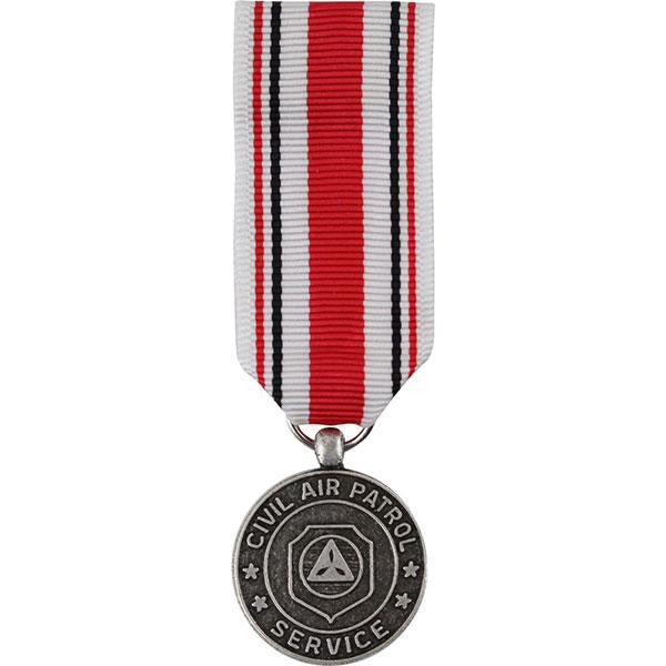 Civil Air Patrol miniature Medal: Red Service