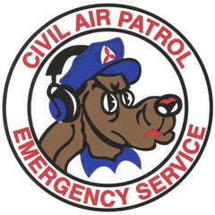 Civil Air Patrol Decal: Emergency Service