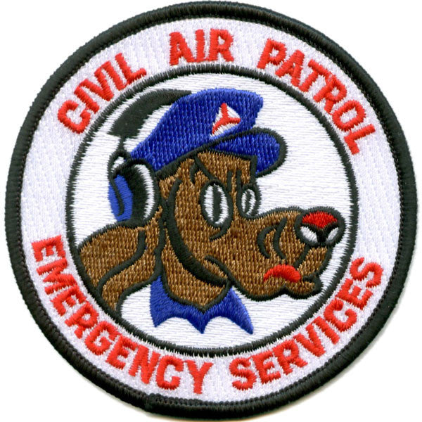 Emergency Services Patch (Round)