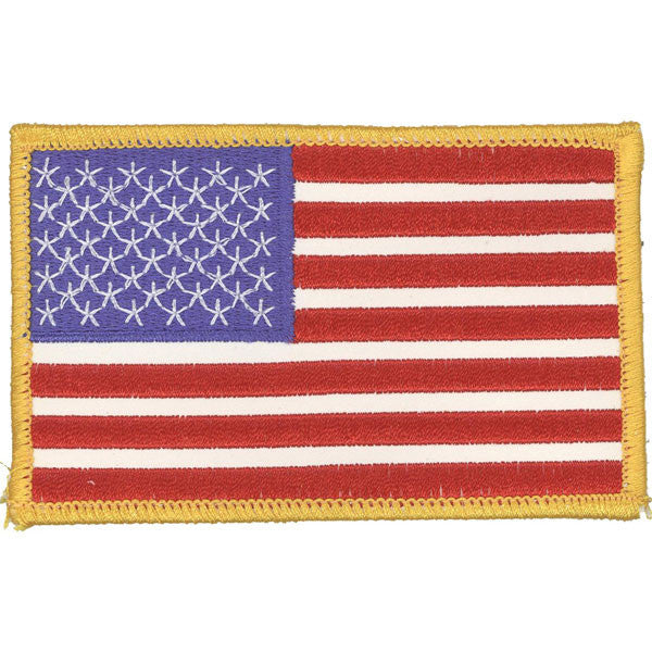 Flag Patch: United States of America- 3