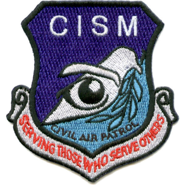 Civil Air Patrol Patch: Critical Incident Stress Management