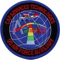 Civil Air Patrol Patch: CAP Advanced Technologies USAF Auxiliary ARCHER