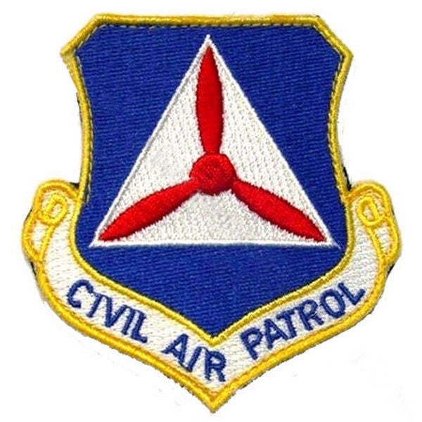 Civil Air Patrol Command Patch with Hook