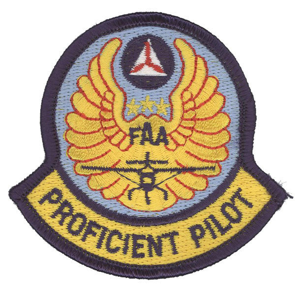 Civil Air Patrol Patch: Proficient Pilot