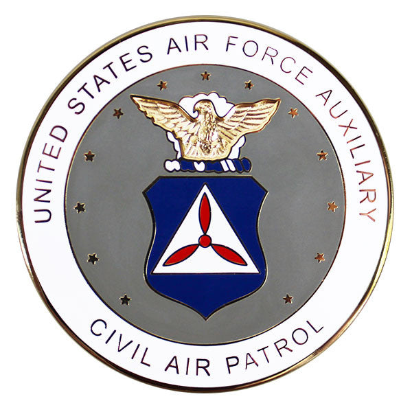 Civil Air Patrol Seal for Plaques - flat, enamel, 2