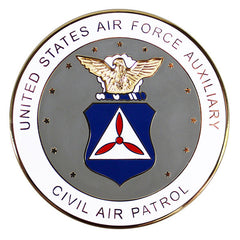 Civil Air Patrol Seal for Plaques - flat, enamel