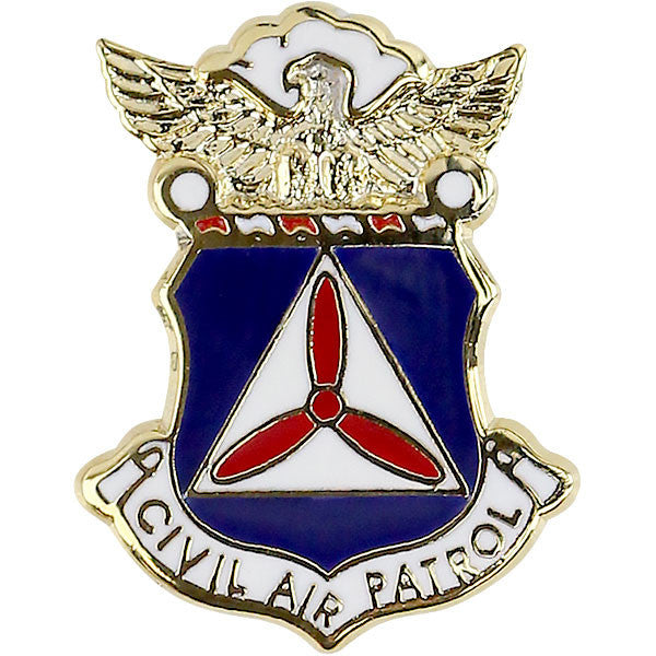 Civil Air Patrol: CAP Crest Lapel Pin