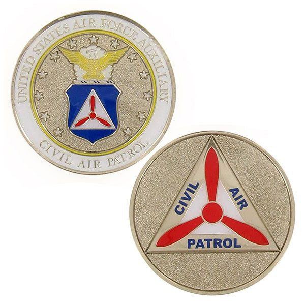 Civil Air Patrol Coin: CAP US Air Force Auxiliary