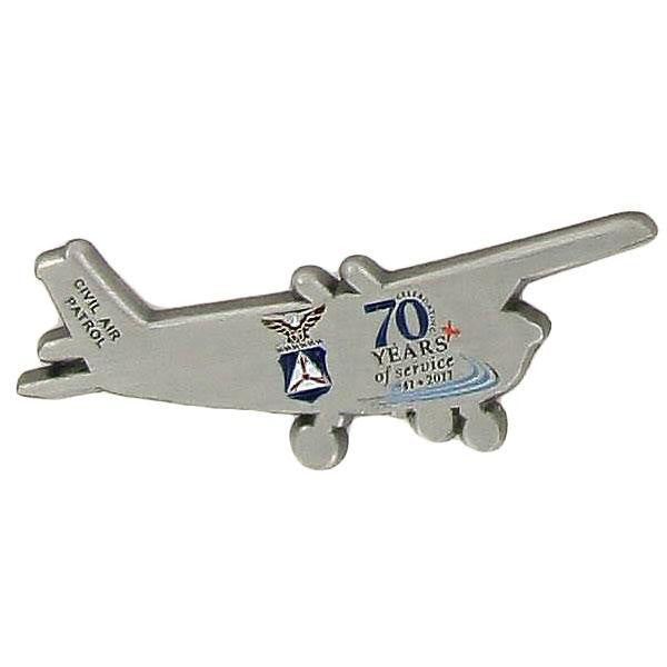 Civil Air Patrol:  70 Year Anniversary Lapel Pin