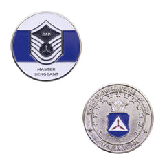 Civil Air Patrol: Master SGT NCO Coin