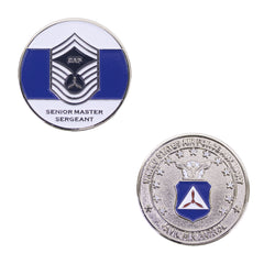 Civil Air Patrol: Senior Master SGT NCO Coin
