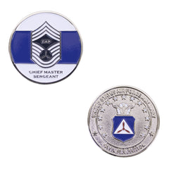 Civil Air Patrol: Chief Master SGT NCO Coin