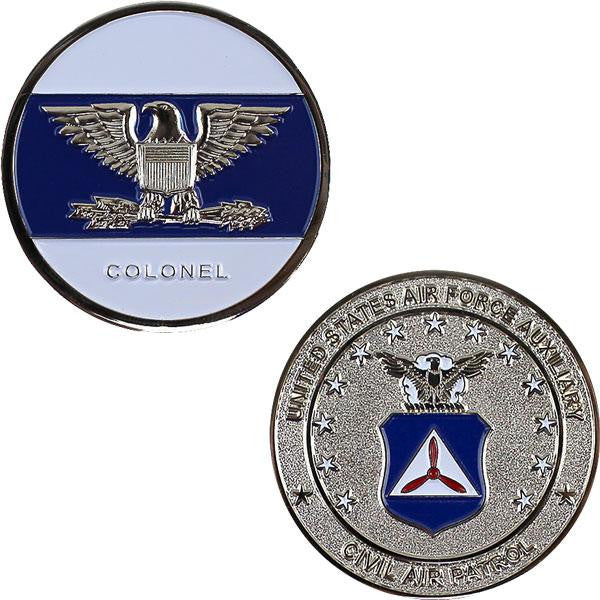 Civil Air Patrol: COL Coin