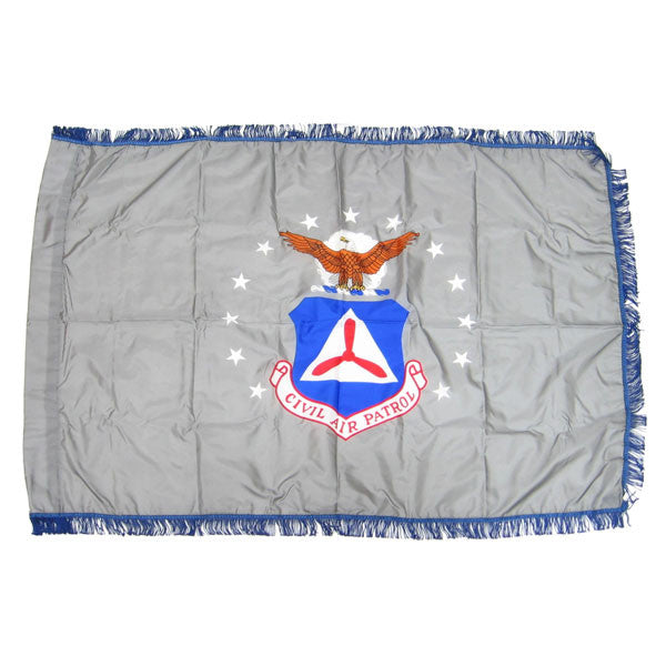Civil Air Patrol Flag: Seal - 3 by 4 feet nylon with fringe
