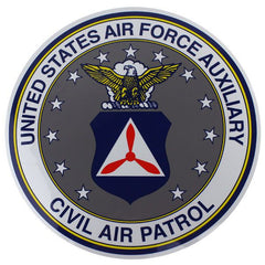Civil Air Patrol Decal: Seal - 12 inches