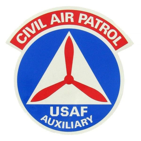 Civil Air Patrol Decal: CAP Emblem - 12 inches
