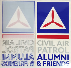 Civil Air Patrol: Alumni Window Cling