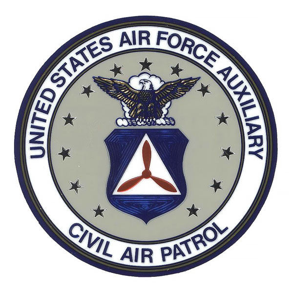 Civil Air Patrol Decal: Face Down Seal