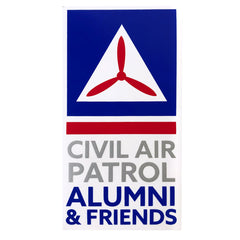 Civil Air Patrol: Alumni Window Decal