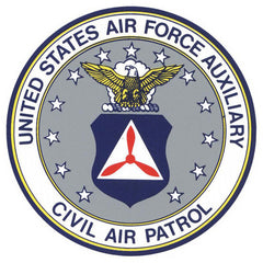 Civil Air Patrol Decal Window Cling: Seal - 4 inches