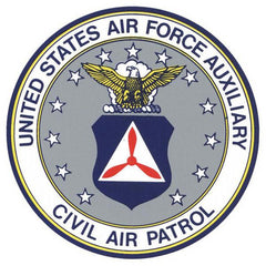 Civil Air Patrol Decal: Seal - 2.5 inch