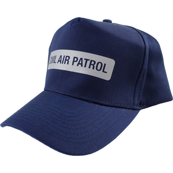 Civil Air Patrol Ball Cap: Reflective Strip - navy blue