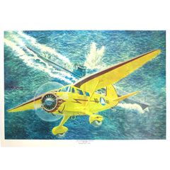 Civil Air Patrol Lithograph: Coastal Patrol