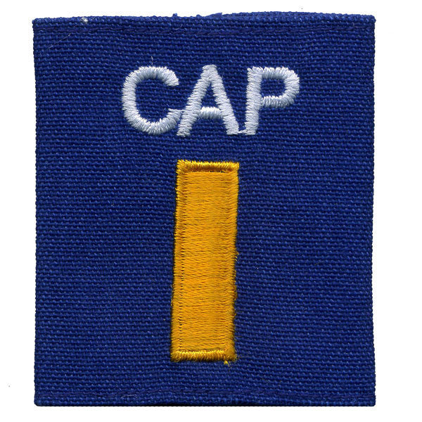 Civil Air Patrol Gortex Jacket Tab: Second Lieutenant