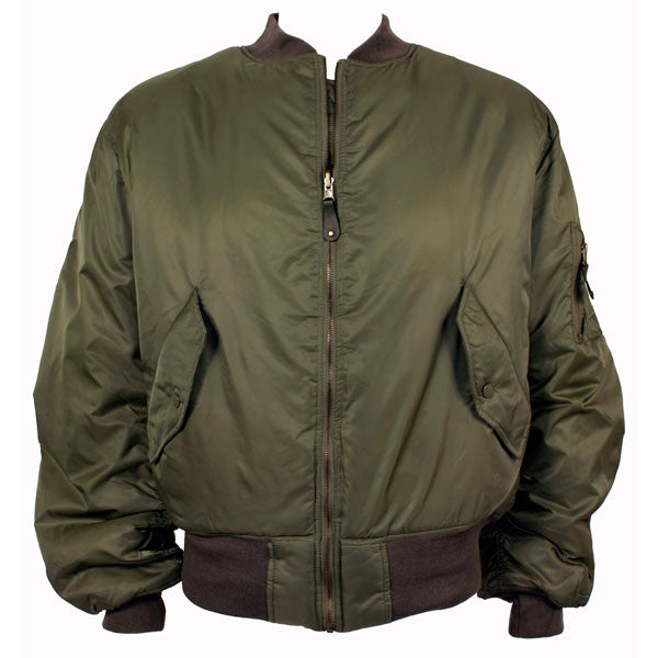 Civil Air Patrol Uniform: Reversible Nylon Flight Jacket - sage green