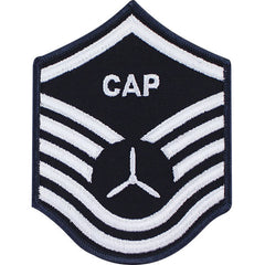 Civil Air Patrol: Senior Member NCO MSGT Embr Chevrons small
