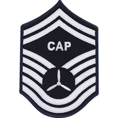 Civil Air Patrol: Senior Member NCO SMSGT Embr Chevrons small