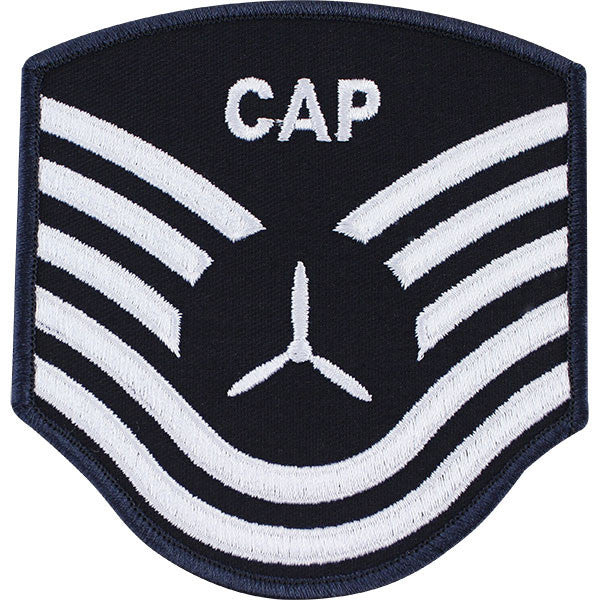 Civil Air Patrol: Senior Member NCO TSGT Embr Chevrons large