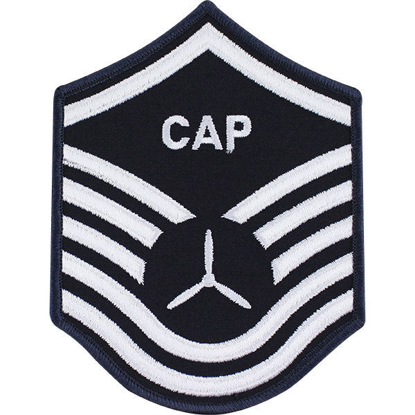 Civil Air Patrol: Senior Member NCO MSGT Embr Chevrons large