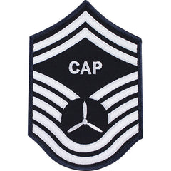 Civil Air Patrol: Senior Member NCO SMSGT Embr Chevrons large