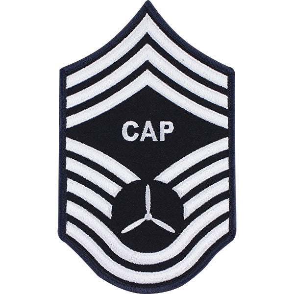 Civil Air Patrol: Senior Member NCO CMSGT Embr Chevrons large