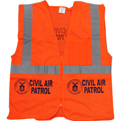 Civil Air Patrol Orange Reflective Vest - ANSI Class II Approved
