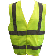 Civil Air Patrol Lime Yellow Reflective Vest - ANSI Class II Approved