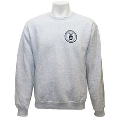 Civil Air Patrol Leisure Sweatshirt: Crewneck Ash Grey Fleece