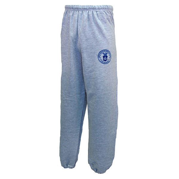 Civil Air Patrol Leisure Sweatpants: Ash Grey Fleece