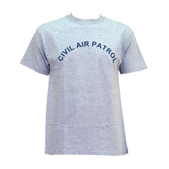 Civil Air Patrol Leisure T-Shirt: Grey