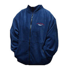 Civil Air Patrol Fleece Jacket: Cessna Logo - blue zippered