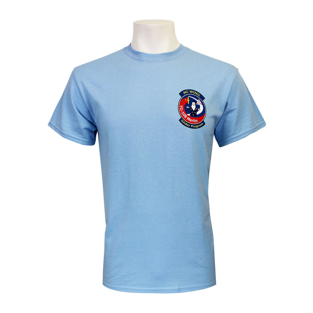 Civil Air Patrol Leisure T-Shirt: North Carolina Wing Glider Program