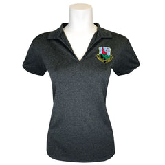 Civil Air Patrol Leisure Polo: Idaho Wing Ladies (Charcoal)