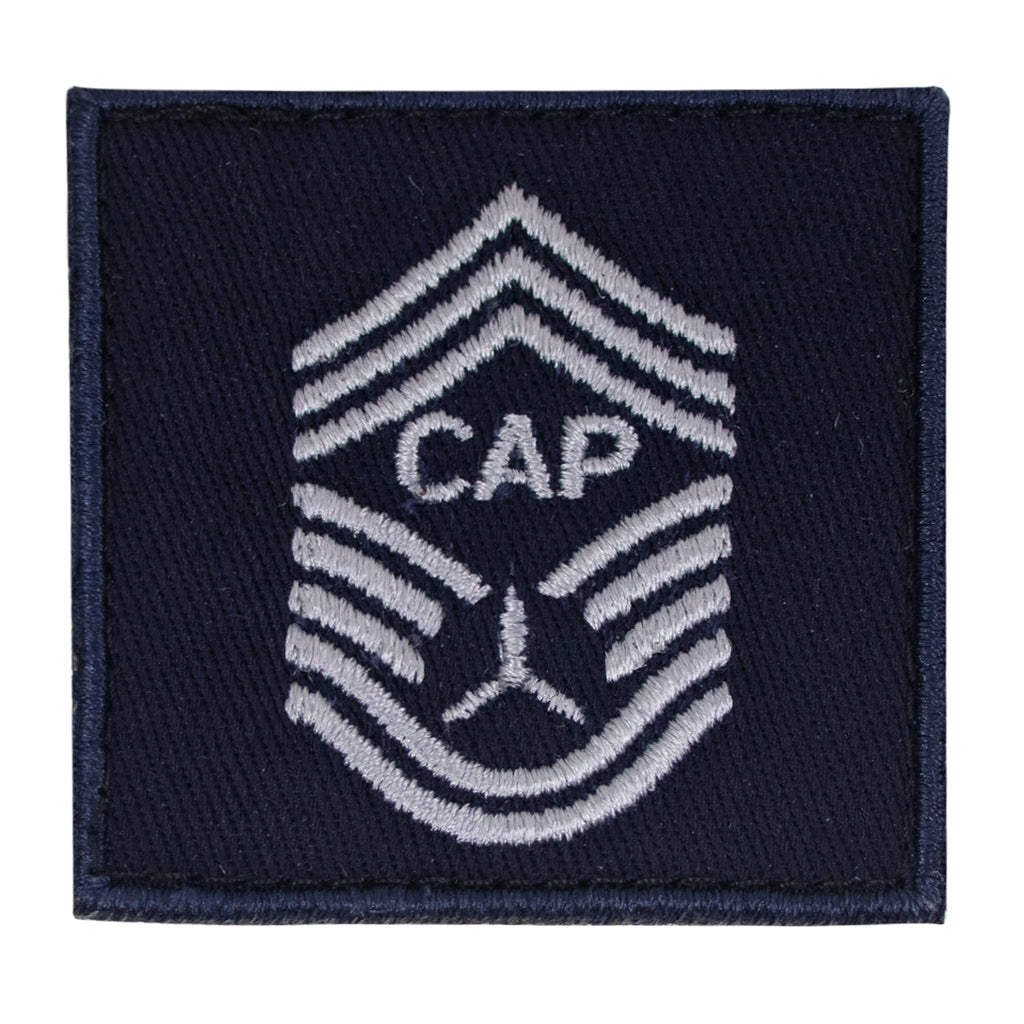 Civil Air Patrol Senior Grade Fleece Rank: CHIEF MASTER SGT (New Insignia)