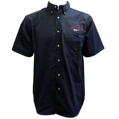 Civil Air Patrol Leisure Shirt: Short Sleeve - navy blue, male