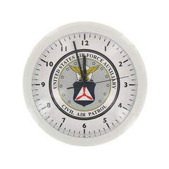 Civil Air Patrol Wall Clock: Cap Seal
