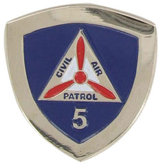 Civil Air Patrol:  Lapel Pin for 5 Years of Service
